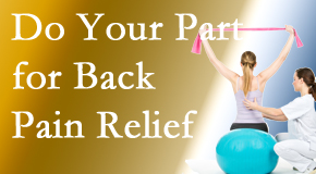 Poulin Chiropractic of Herndon and Ashburn invites back pain sufferers to participate in their own back pain relief recovery.