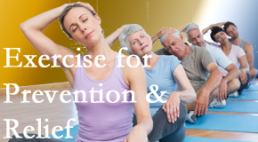 Poulin Chiropractic of Herndon and Ashburn recommends exercise as a key part of the back pain and neck pain treatment plan for relief and prevention.