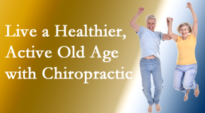 Poulin Chiropractic of Herndon and Ashburn invites older patients to incorporate chiropractic into their healthcare plan for pain relief and life's fun.