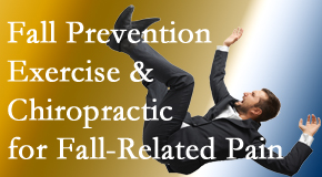 Poulin Chiropractic of Herndon and Ashburn presents new research on fall prevention strategies and protocols for fall-related pain relief.