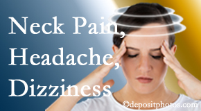 Poulin Chiropractic of Herndon and Ashburn helps decrease neck pain and dizziness and related neck muscle issues.