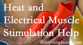 Poulin Chiropractic of Herndon and Ashburn uses heat and electrical stimulation for Ashburn pain relief.