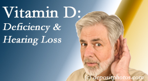Poulin Chiropractic of Herndon and Ashburn presents recent research about low vitamin D levels and hearing loss.