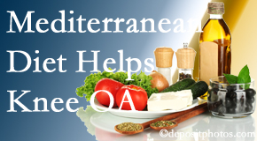 Poulin Chiropractic of Herndon and Ashburn shares recent research about how good a Mediterranean Diet is for knee osteoarthritis as well as quality of life improvement.