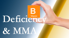 Poulin Chiropractic of Herndon and Ashburn points out B vitamin deficiencies and MMA levels may affect the brain and nervous system functions.