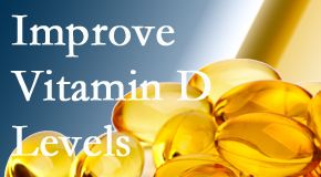 Poulin Chiropractic of Herndon and Ashburn explains that it's beneficial to raise vitamin D levels.