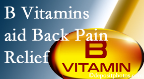 Poulin Chiropractic of Herndon and Ashburn may include B vitamins in the Ashburn chiropractic treatment plan of back pain sufferers.