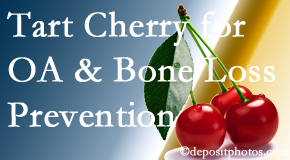Poulin Chiropractic of Herndon and Ashburn shares that tart cherries may enhance bone health and prevent osteoarthritis.