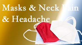 Poulin Chiropractic of Herndon and Ashburn presents research on how mask-wearing may trigger neck pain and headache which chiropractic can help alleviate.