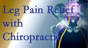 Poulin Chiropractic of Herndon and Ashburn delivers relief for sciatic leg pain at its spinal source.