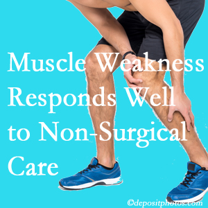 Ashburn chiropractic non-surgical care often improves muscle weakness in back and leg pain patients.