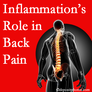 The role of inflammation in Ashburn back pain is real. Chiropractic care can manage it.