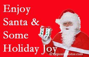 Ashburn holiday joy and even fun with Santa are studied as to their potential for preventing divorce and increasing happiness.