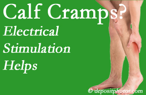 Ashburn calf cramps related to back conditions like spinal stenosis and disc herniation find relief with chiropractic care's electrical stimulation.