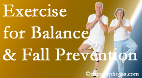 Ashburn chiropractic care of balance for fall prevention involves stabilizing and proprioceptive exercise.
