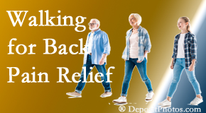 Poulin Chiropractic of Herndon and Ashburn often recommends walking for Ashburn back pain sufferers.