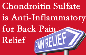 Ashburn chiropractic treatment plan at Poulin Chiropractic of Herndon and Ashburn may well include chondroitin sulfate!