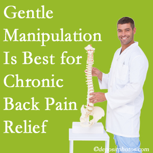 Gentle Ashburn chiropractic treatment of chronic low back pain is superior.