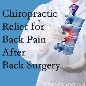Poulin Chiropractic of Herndon and Ashburn offers back pain relief to patients who have already undergone back surgery and still have pain.