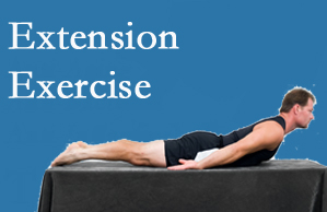 Poulin Chiropractic of Herndon and Ashburn recommends extensor strengthening exercises when back pain patients are ready for them.