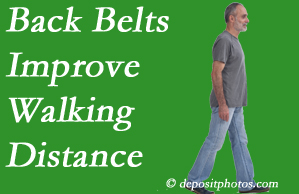 Poulin Chiropractic of Herndon and Ashburn sees benefit in recommending back belts to back pain sufferers.