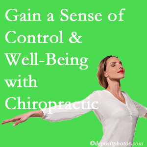Using Ashburn chiropractic care as one complementary health alternative improved patients sense of well-being and control of their health.