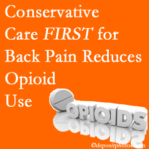 Poulin Chiropractic of Herndon and Ashburn provides chiropractic treatment as an option to opioids for back pain relief.